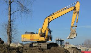 non-road diesel excavator
