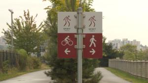 Spirit Trail signage
