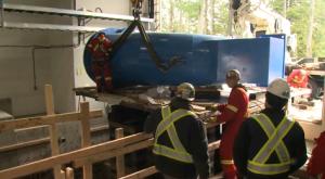 capilano energy recovery turbine install
