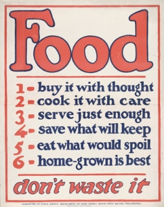 USDA  (United States Department of Agriculture) poster from World War One