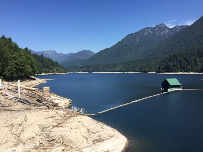 Capilano Reservoir - July 3, 2015