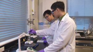 Annacis Research Centre lab 2 researchers