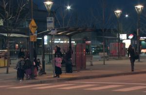 Surrey bus stop