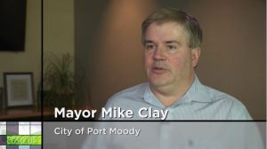 Port Moody Mayor Mike Clay