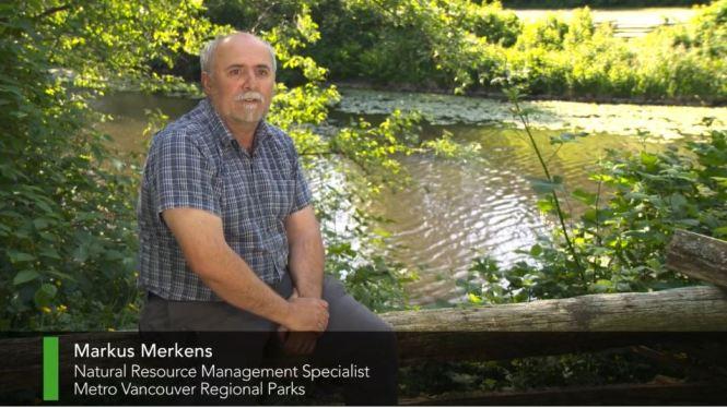 Markus Merkens, Natural Resource Management Specialist, Metro Vancouver